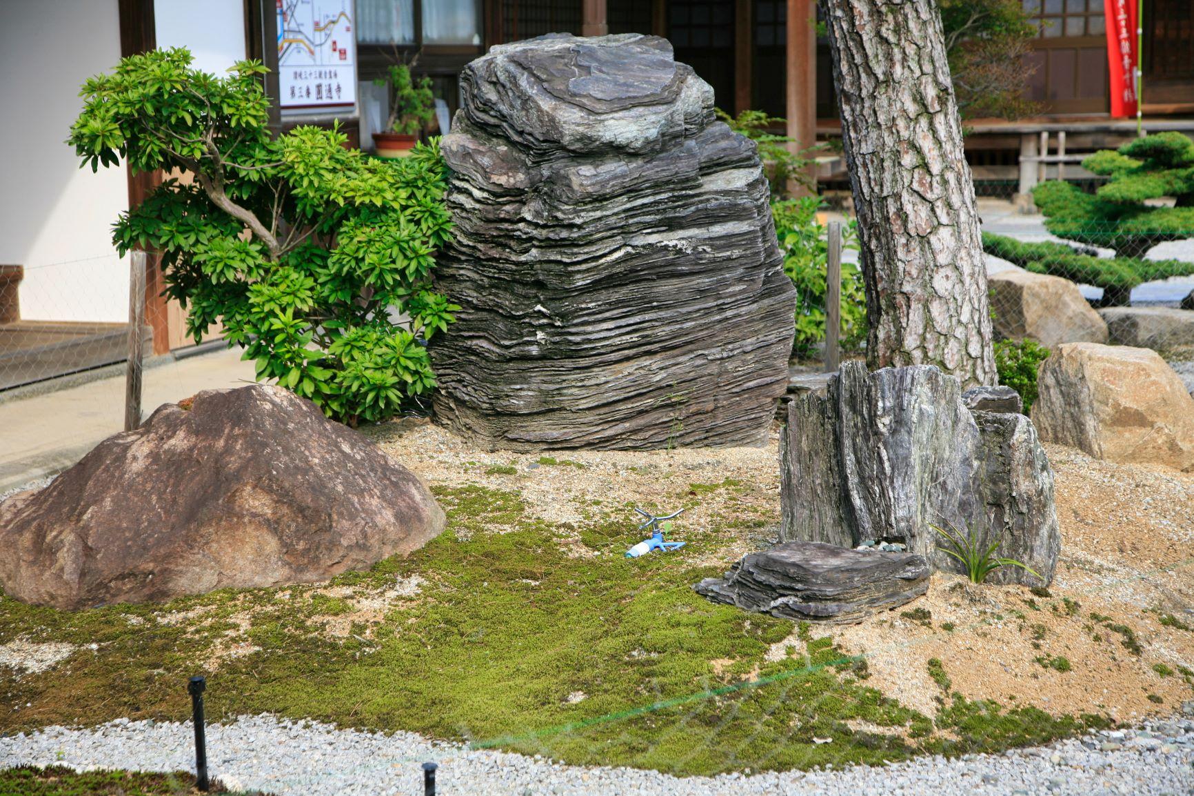 圓通寺の庭