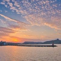 五剣山と屋島と志度湾